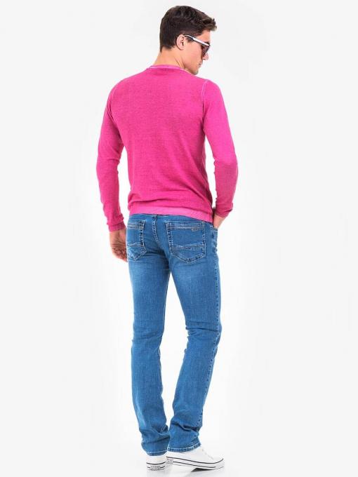 Мъжки пуловер BLUE PETROL 2550-50 INDIGO Fashion
