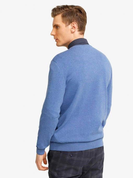 Мъжки син пуловер 801532 INDIGO Fashion