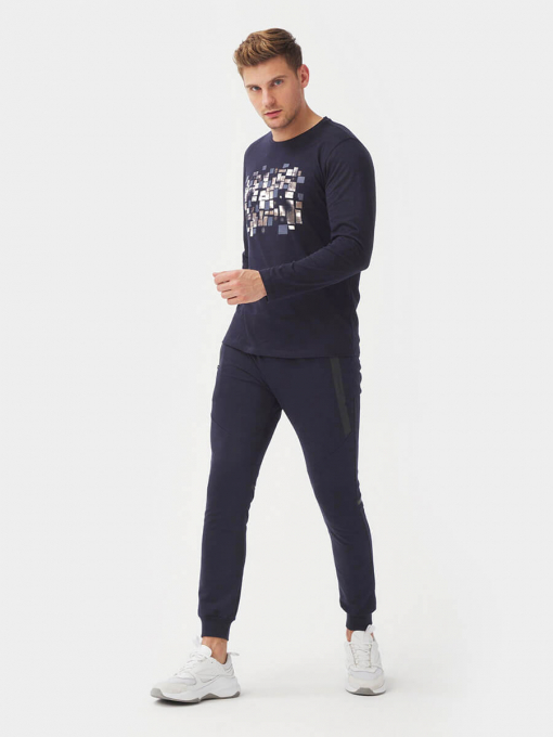 Мъжка блуза 501788-18 INDIGO Fashion