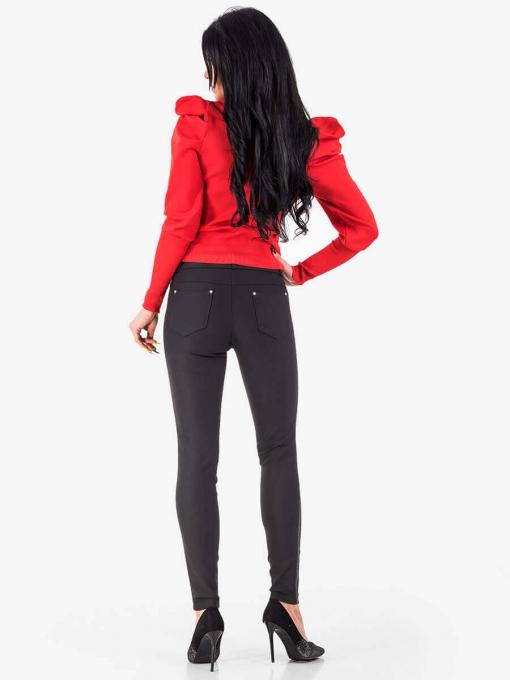 Червена дамска блуза 1923 INDIGO Fashion