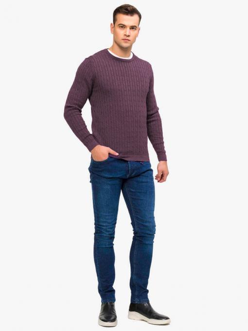 Мъжки пуловер 33187-48 INDIGO Fashion