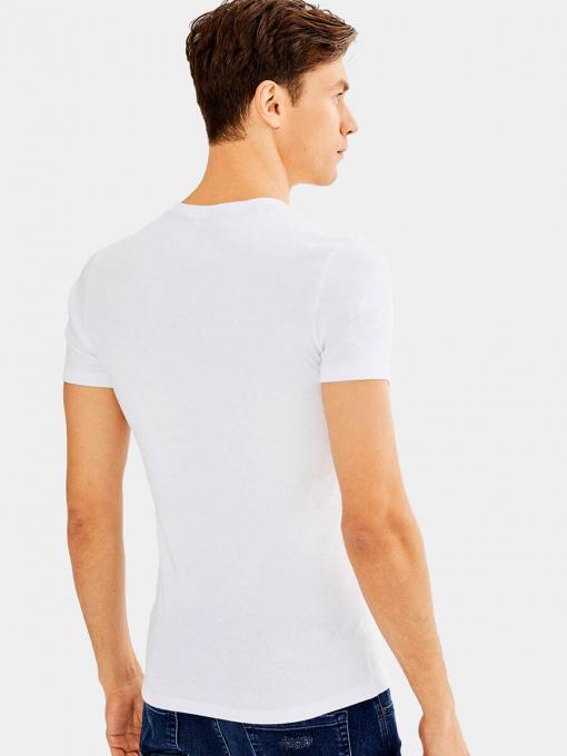 Мъжка бяла тениска 501369 INDIGO Fashion