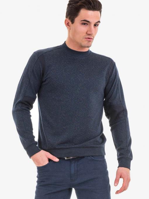 Мъжка спортна блуза XINT 103 INDIGO Fashion