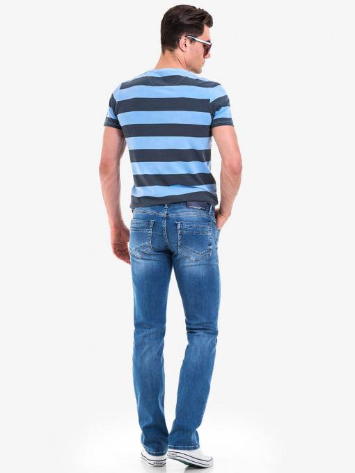 Мъжка блуза BLUE PETROL 3126 INDIGO Fashion