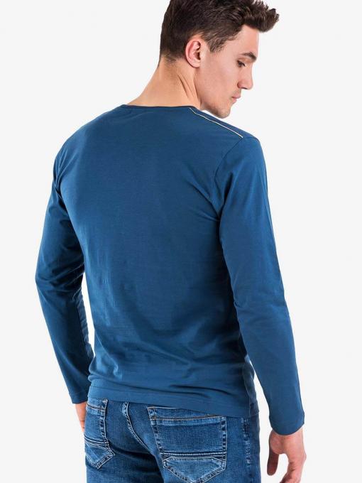 Мъжка блуза VIGOSS 60207 INDIGO Fashion