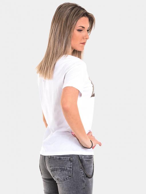 Дамска тениска 8126-20 INDIGO Fashion