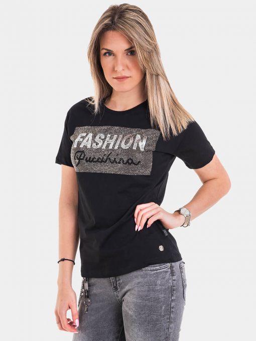 Дамска тениска 8129-09 INDIGO Fashion