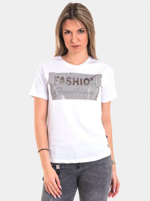 Дамска тениска 8129-20 INDIGO Fashion