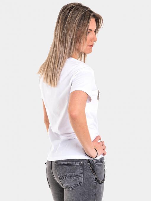 Дамска тениска 8144-20 INDIGO Fashion