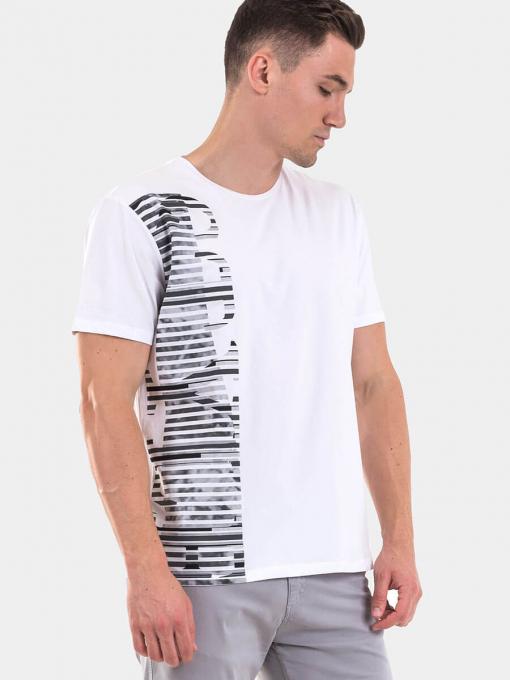 Мъжка тениска 35276-20 INDIGO Fashion