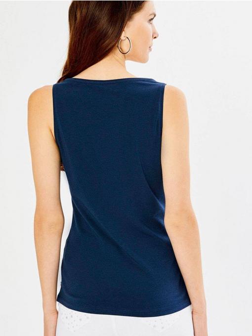 Дамски втален топ - тъмносин 601473 INDIGO Fashion