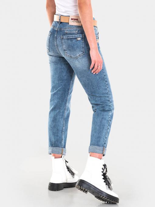 Бойфренд дамски дънки 6290 INDIGO Fashion