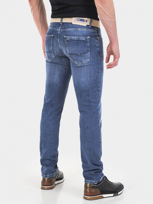 Прави мъжки дънки Paul 6230  INDIGO Fashion