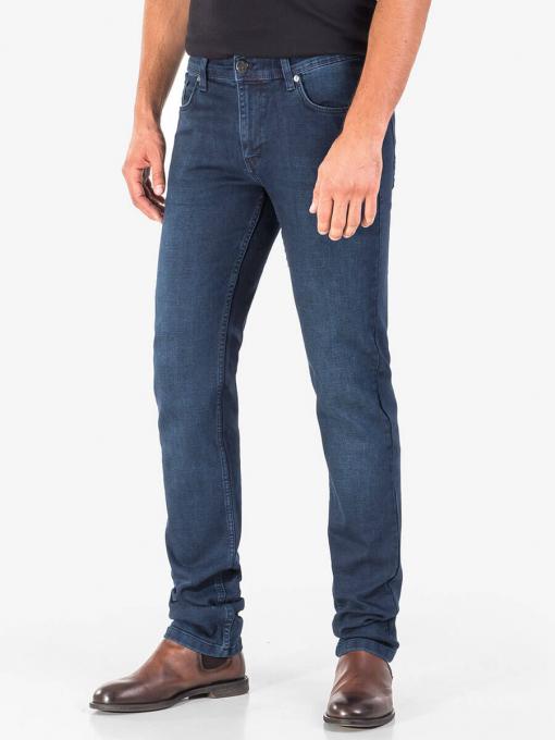 Класически мъжки дънки 5543 INDIGO Fashion