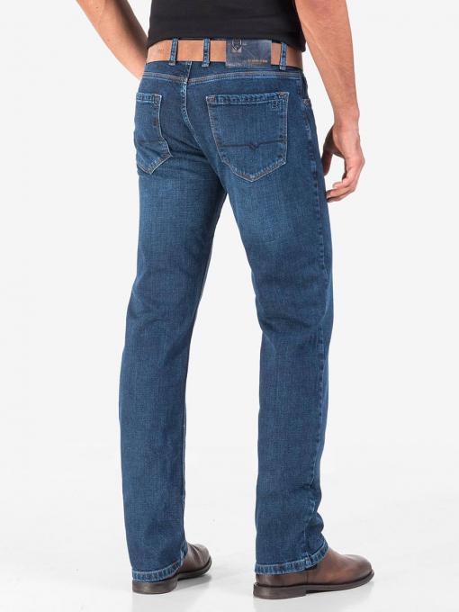 Класически мъжки дънки 5572 INDIGO Fashion