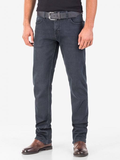 Класически мъжки дънки 5661 INDIGO Fashion