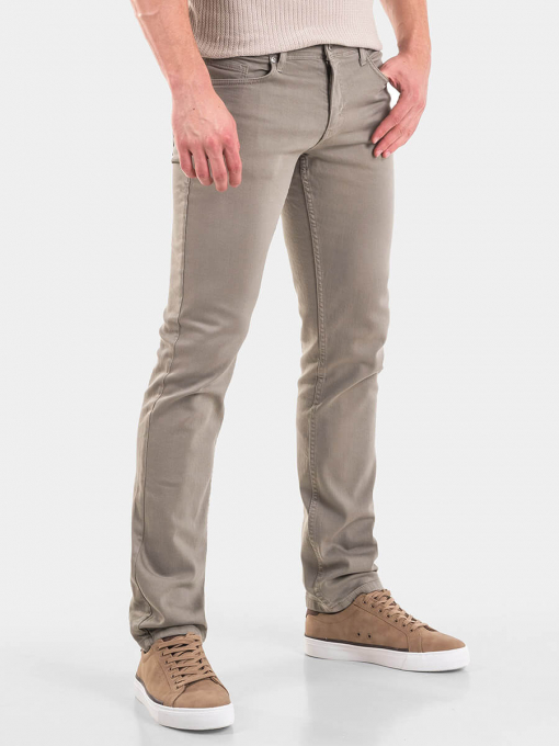 Прави мъжки дънки 5764-06  INDIGO Fashion