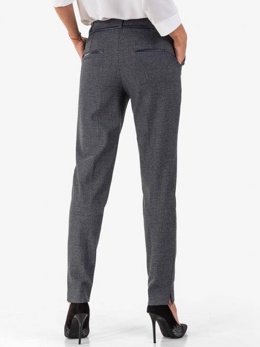 Дамски елегантен панталон 8959 INDIGO Fashion