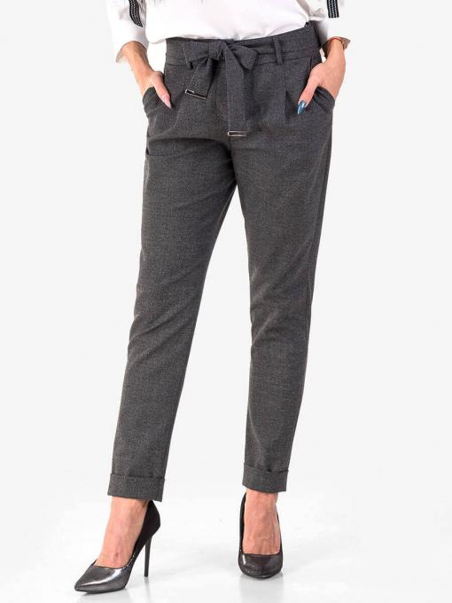 Елегантен дамски панталон 1251-16 INDIGO Fashion