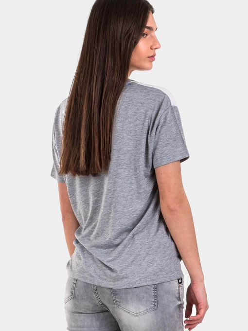 Сива дамска блуза 7198 INDIGO Fashion