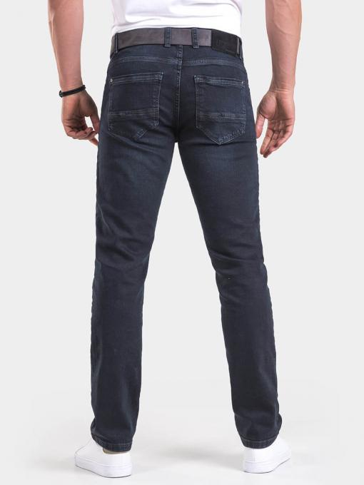 Прави мъжки дънки 6259 INDIGO Fashion
