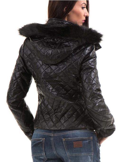 Дамско яке XINT 116 - черно