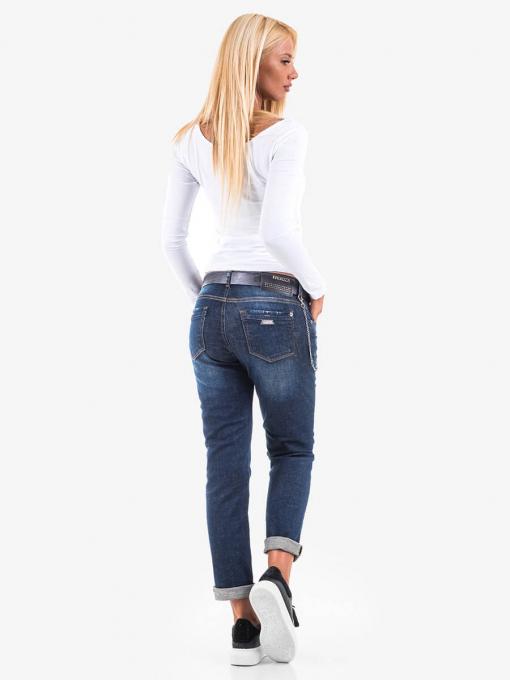 Бойфренд дънки в големи размери 5402 INDIGO Fashion