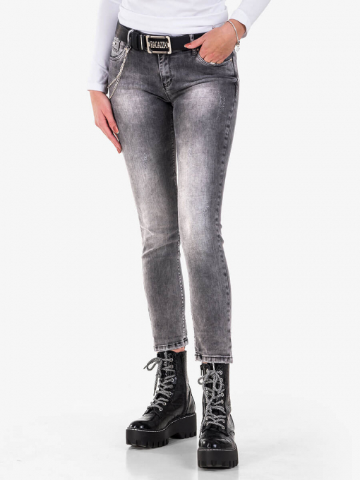 Дамски бойфренд дънки 5740-82 от Indigo Fashion