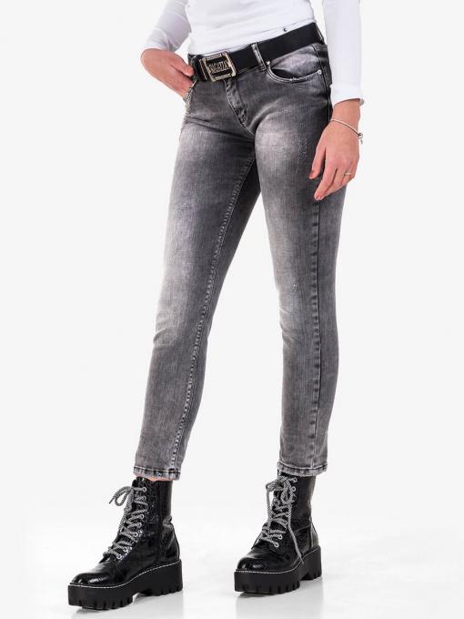Дамски бойфренд дънки 5740-82 от Indigo Fashion 2