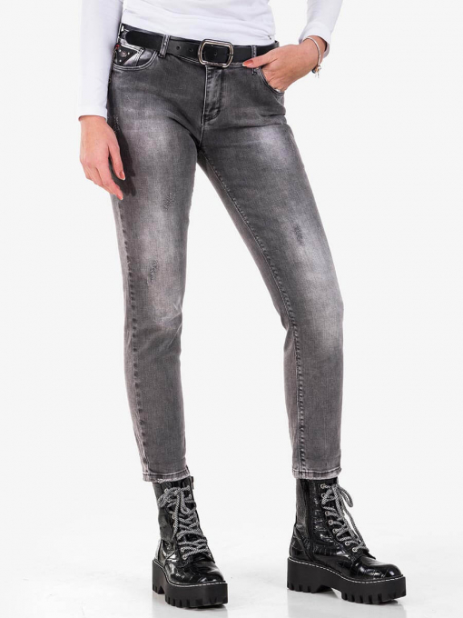 Дамски бойфренд дънки 5781-82 INDIGO Fashion