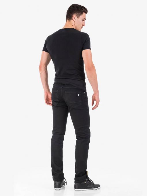 Черни класически мъжки дънки 5604 INDIGO Fashion