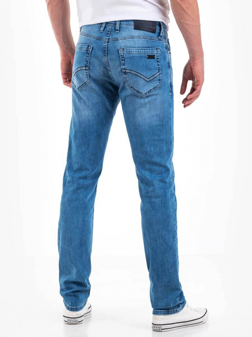 Светли прави  мъжки дънки 5184 INDIGO Fashion
