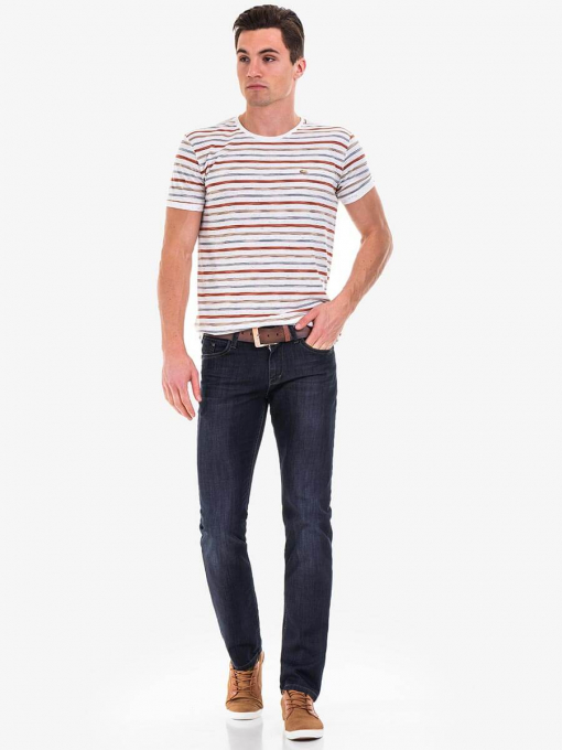 Прави тъмни мъжки дънки 5351 INDIGO Fashion