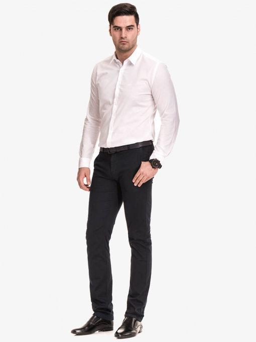 Мъжка елегантна риза 476 INDIGO Fashion