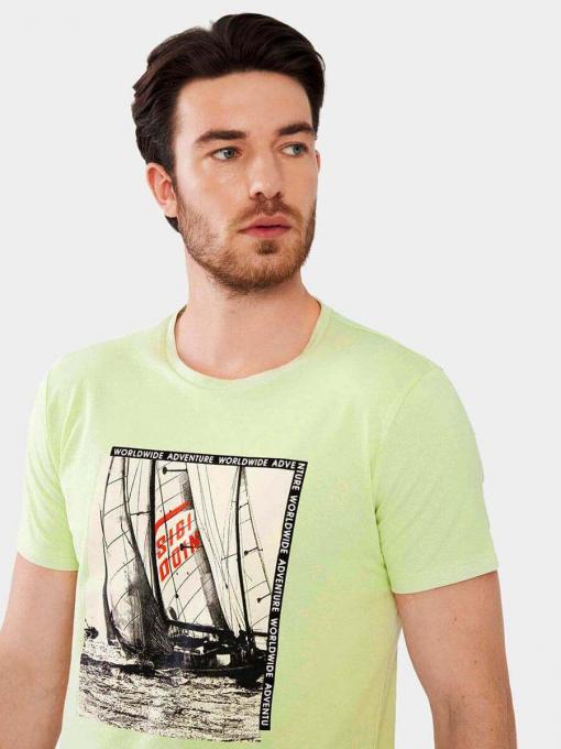 Мъжка тениска 35418-26 INDIGO Fashion