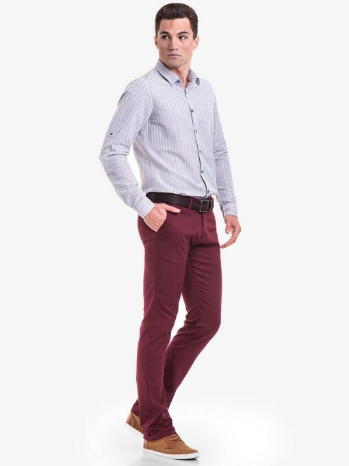 Мъжки спортно-елегантен панталон BRN 7207