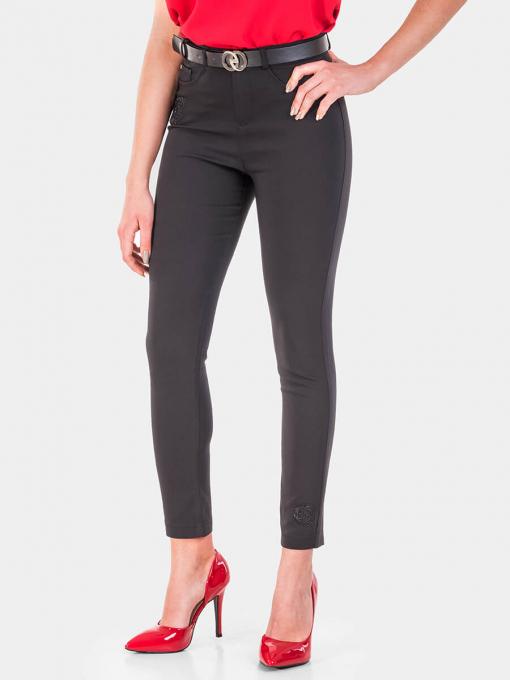 Слим фит дамски панталон B1220-09 INDIGO Fashion