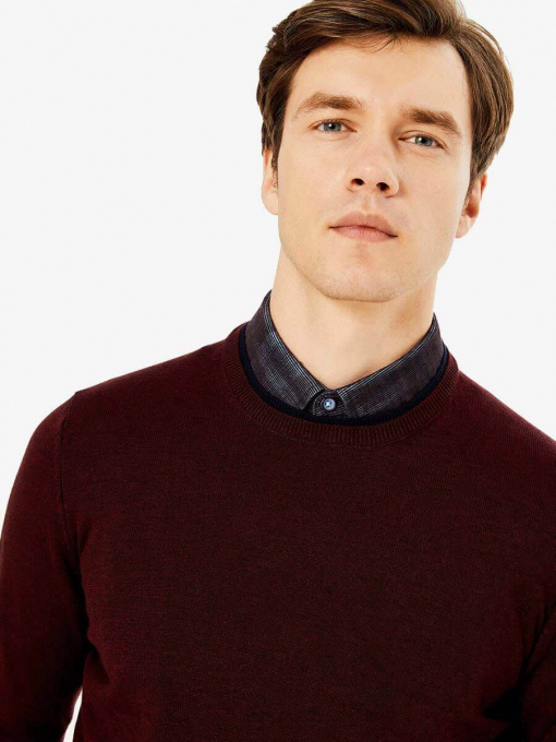 Мъжки пуловер 18367-30 INDIGO Fashion