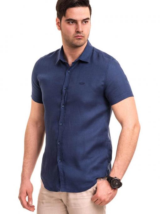 Ленена мъжка риза  XINT 477