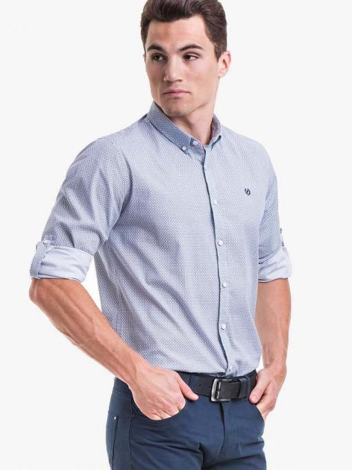 Мъжка риза  MCL 25601 - бяла