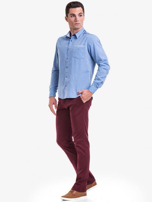Мъжка памучна риза XINT 568