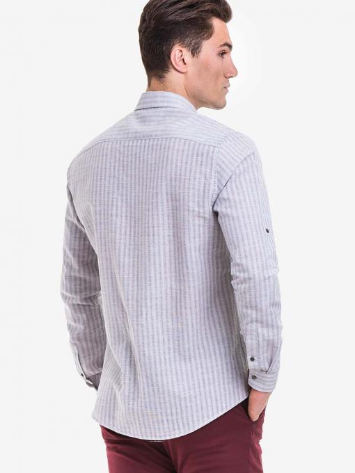 Ленена мъжка риза XINT 573