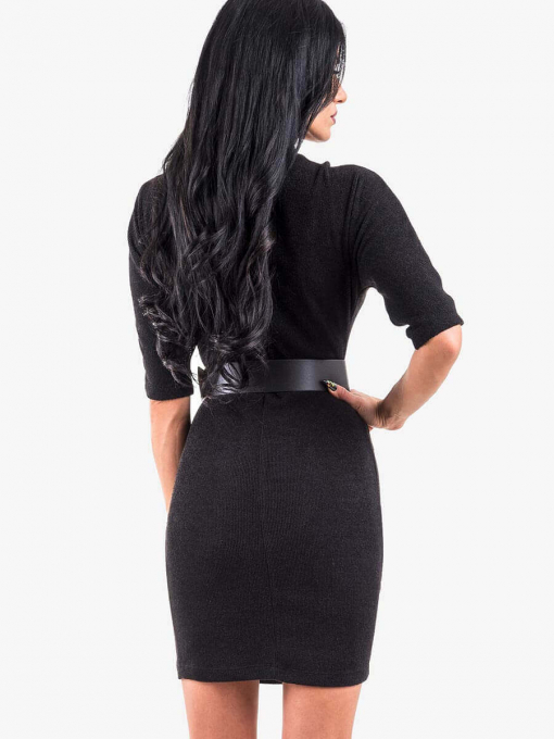 Вталена рокля 8267-09 INDIGO Fashion