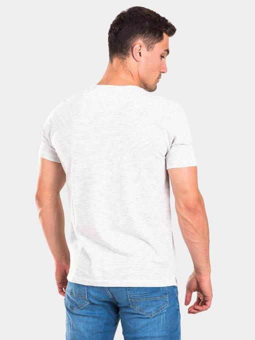 Мъжка тениска 35323-10 INDIGO Fashion B