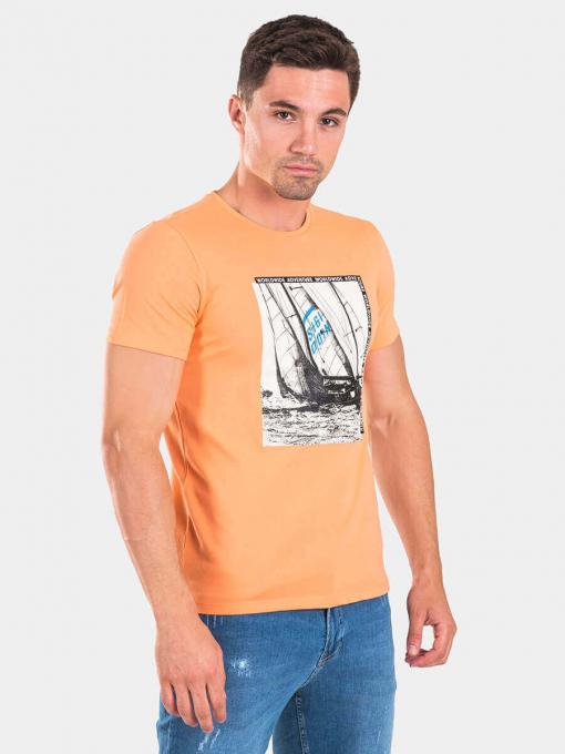 Мъжка тениска 35418-10 INDIGO Fashion A