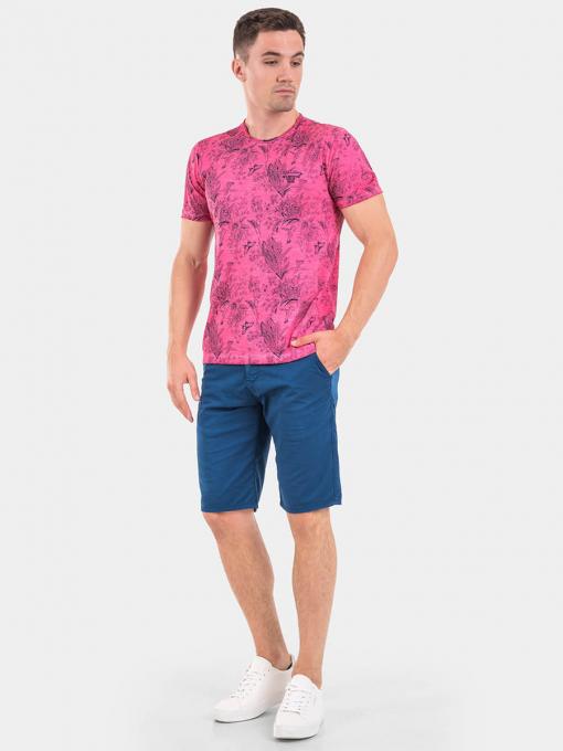 Мъжка тениска 26838-68 INDIGO Fashion