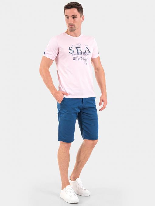 Мъжка тениска 35282-50 INDIGO Fashion