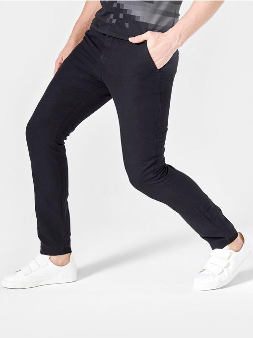 Летен мъжки панталон - черен 100535 INDIGO Fashion