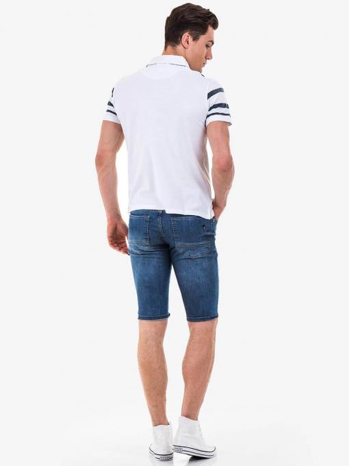 Мъжка блуза BLUE PETROL 3094 INDIGO Fashion