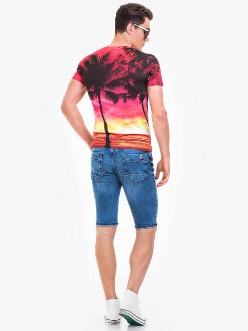 Мъжка тениска VIGOSS 60087-68 INDIGO Fashion
